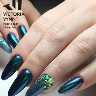 Victoria Vynn - Pó Metalizado Verde