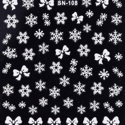 Autocolantes 3D de Natal - SN-108