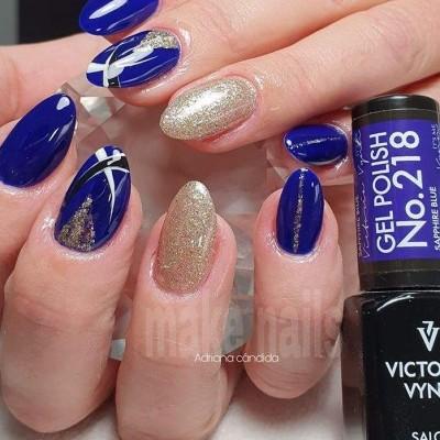 Victoria Vynn Verniz Gel Nº 218 - Sapphire Blue - 8 ml