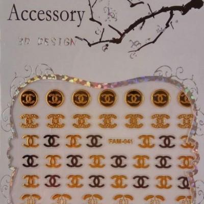 Autocolantes Chanel Fam-041