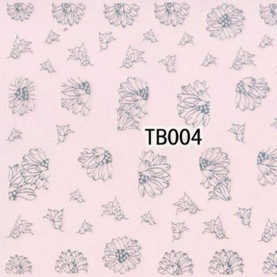 Autocolantes 3D Prateados - TB004