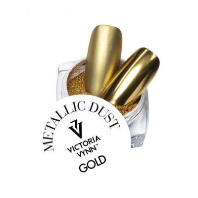 Victoria Vynn - Pó Metalizado Dourado - Gold
