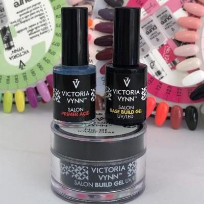 Victoria Vynn - Kit Gel Clear 50 ml + Primer Com Ácido + Base Para Gel
