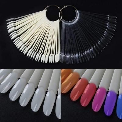 Mostruário de 50 cores com argola - Formato Oval