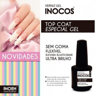 Inocos - Top Coat Especial Gel - 15ml
