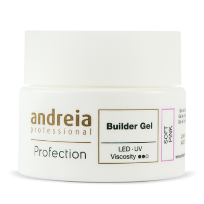 Andreia Builder Gel - Soft Pink - 44 gr