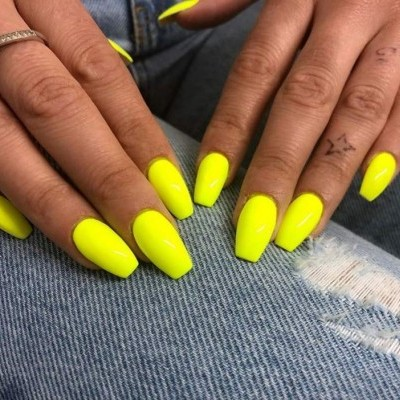 Victoria Vynn Verniz Gel Nº 057 - Neon Yellow - 8 ml