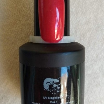Verniz Gel Nded - Vermelho Metalizado - 1024  - 15 ml