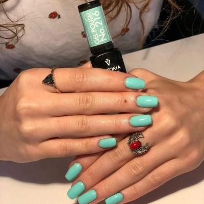Victoria Vynn Verniz Gel Nº 216 - Tiffany Blue - 8 ml