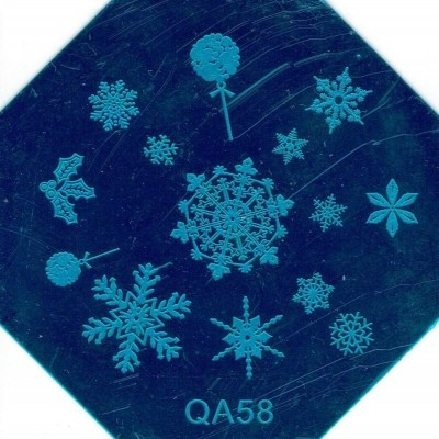 Placa QA58 - Natal