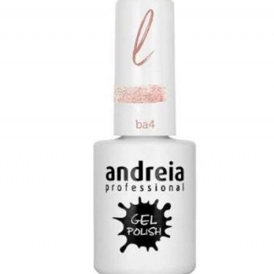 Andreia Ba4 - Glitter Rosa e Dourado