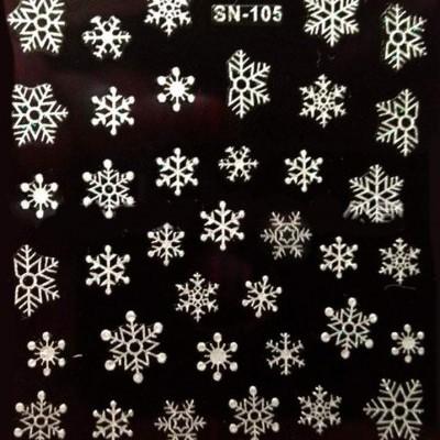 Autocolantes 3D de Natal - SN-105