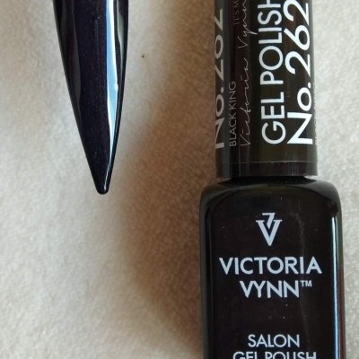 Victoria Vynn Verniz Gel Nº 262 - Black King - 8 ml