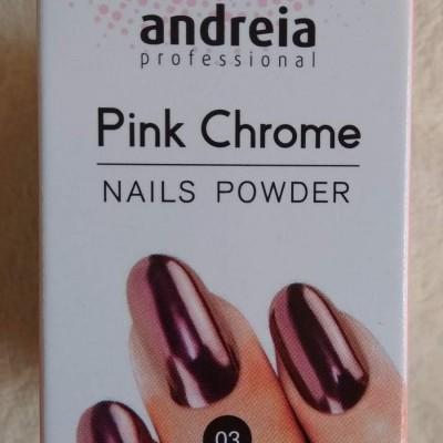 Andreia Pó Cromado Cor de Rosa - Pink Chrome