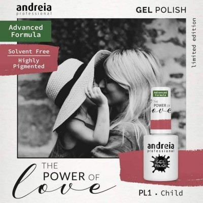 Verniz Gel Andreia PL1 - The Power of Love