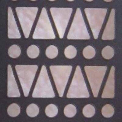 Stencil Bolinhas e Triângulos