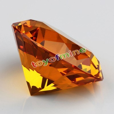 Cristal Ambar 60 mm
