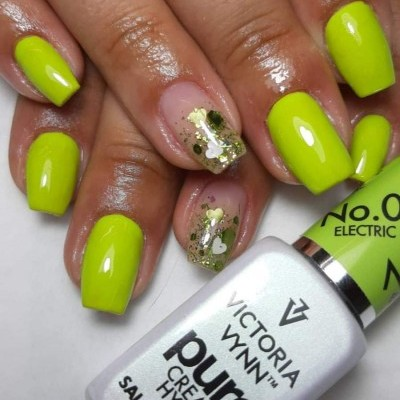 Victoria Vynn Verniz Gel Nº 084 - Electric Lime - 8 ml