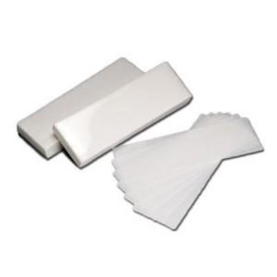 Bandas Depilação TNT Branco - 7x20cm - 100 unidades