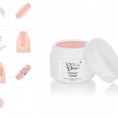 Gel Nded Make up Rosa - 6501 - 5 ml