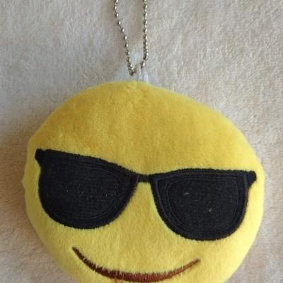 Porta-Chaves Smile com Óculos Escuros - Emoji