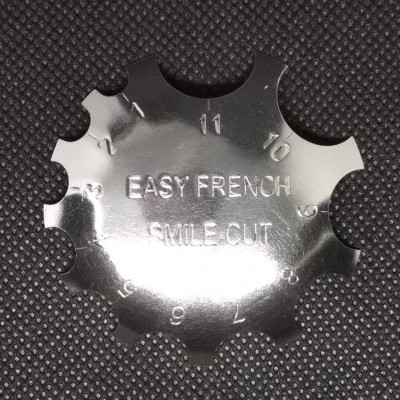 Chapa para Francesa - Easy French Smile Cut