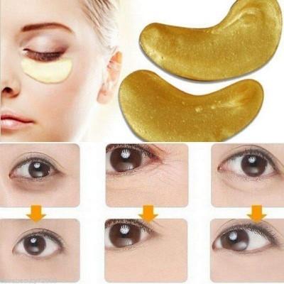 Pads Dourados com Colagéneo para Olhos - Anti-idade, Anti-Rugas, Hidratante