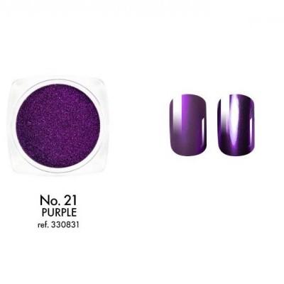 Victoria Vynn - Pó Metalizado Roxo - Purple