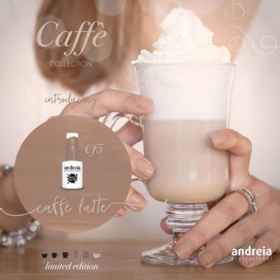 Verniz Gel Andreia Cf5 - Coleção Caffe