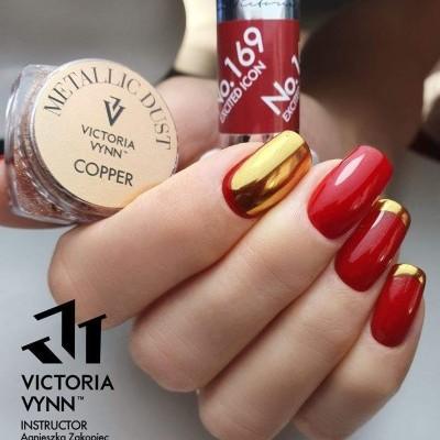 Victoria Vynn - Pó Metalizado Copper