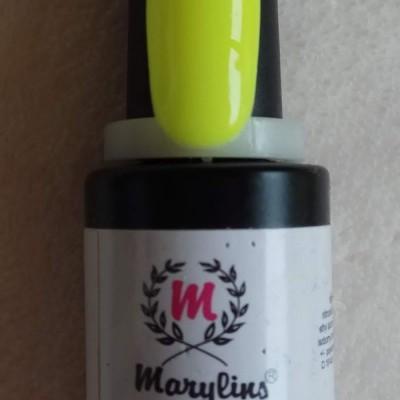 Verniz Gel Marylins 063 - Amarelo Neon