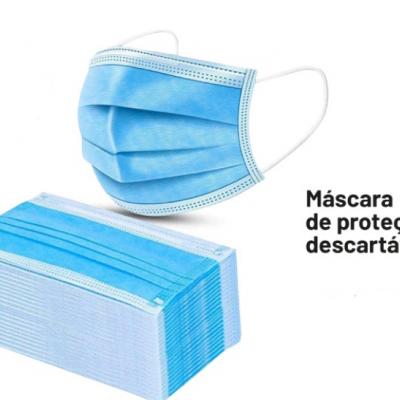 Máscara de protecção (cirurgica)