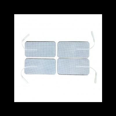 Eletrodos adesivos rectangulares Cabo Kinefis 50x100mm- Saco: 4 unidades