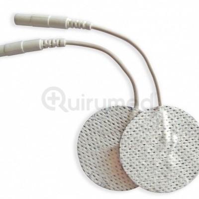 Eletrodo adesivo com cabo de conexão 2mm