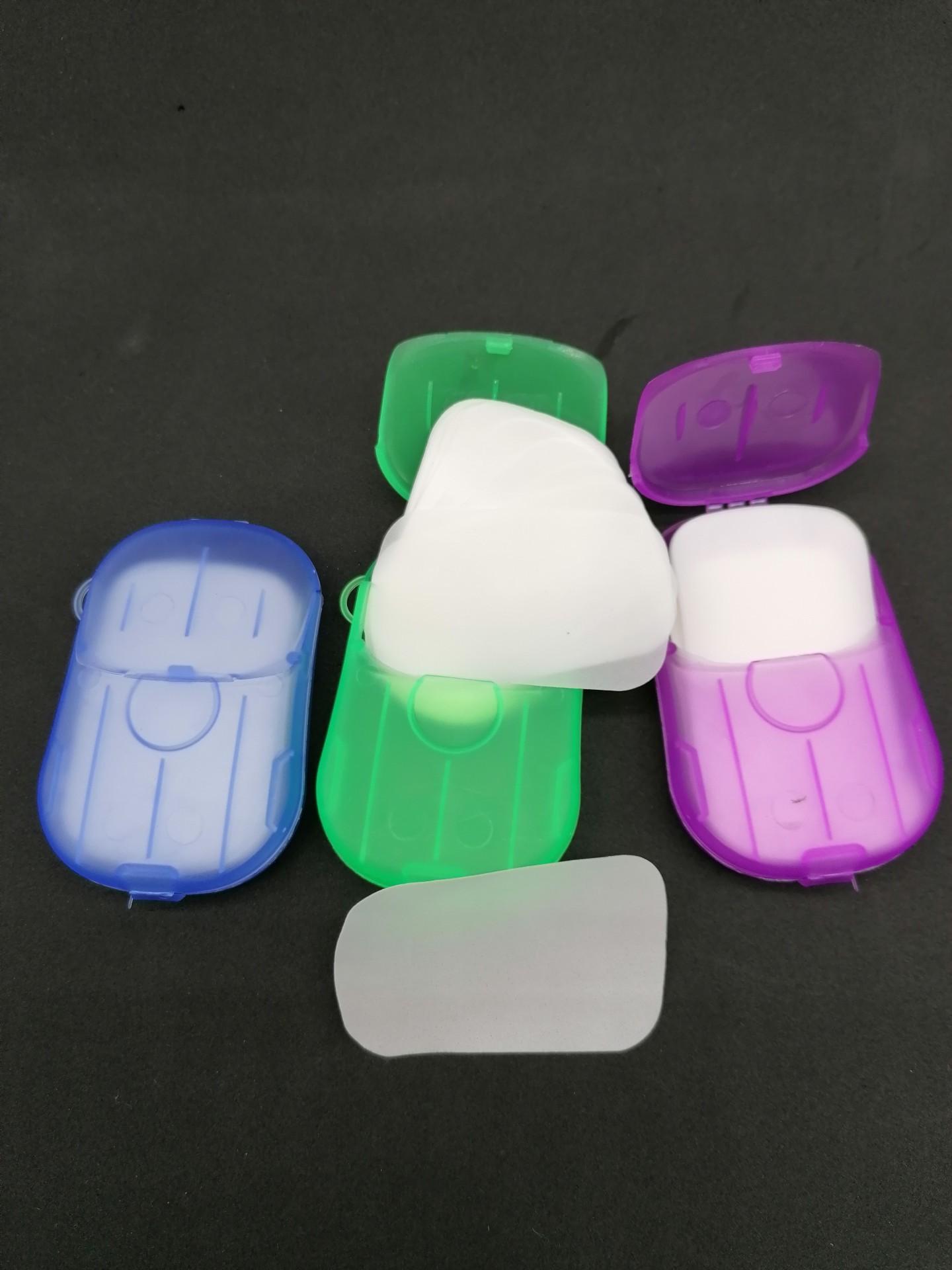 Sabonete de bolso - papel sabonete
