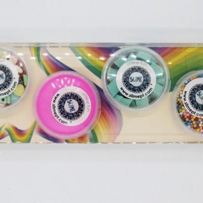 Kit Decoração de Slime - 4 Adereços