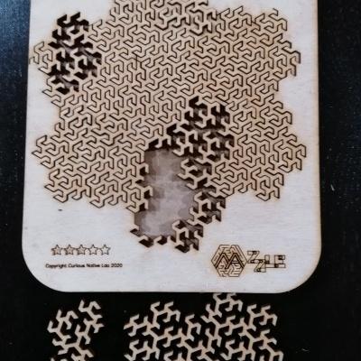 Puzzle #4 - Curva Fractal Peano/Gosper