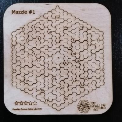Puzzle #1 - Puzzle labirinto