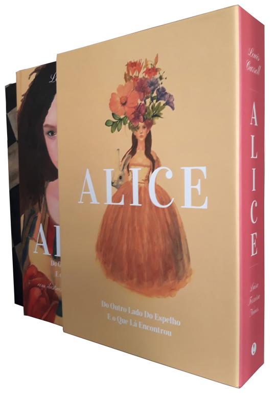 Pack ALICE - Alice, As Aventuras no País das Maravilhas | Alice do Outro Lado do Espelho e o Que Lá Encontrou