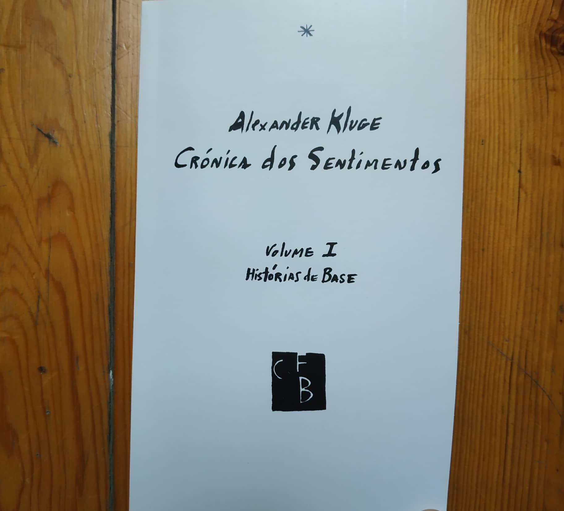 Crónica dos Sentimentos Vol.I - Histórias de Base