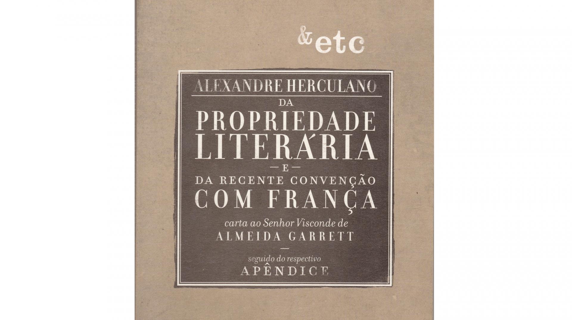 Da Propriedade Literária e Da Recente Convenção com França