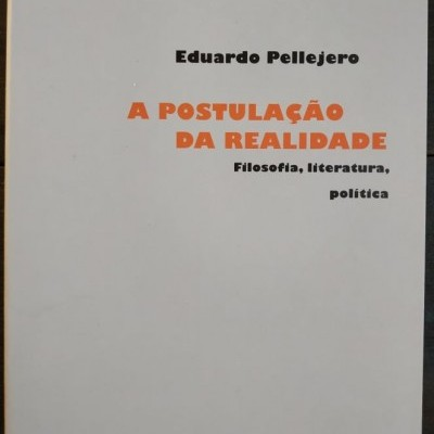 A Postulação da Realidade - Filosofia, literatura, política