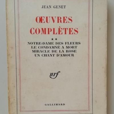Oeuvres Complètes - Jean Genet