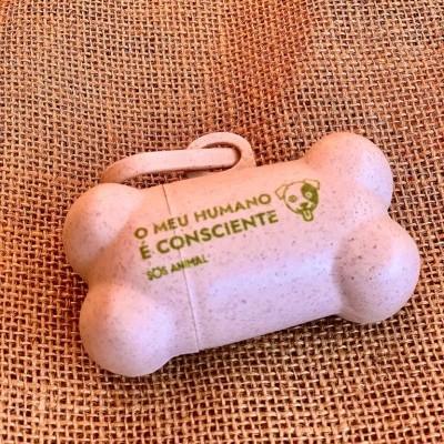 Dispensador de sacos para cães
