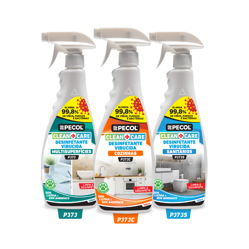 Desinfetante superfícies - P373 - 500ml