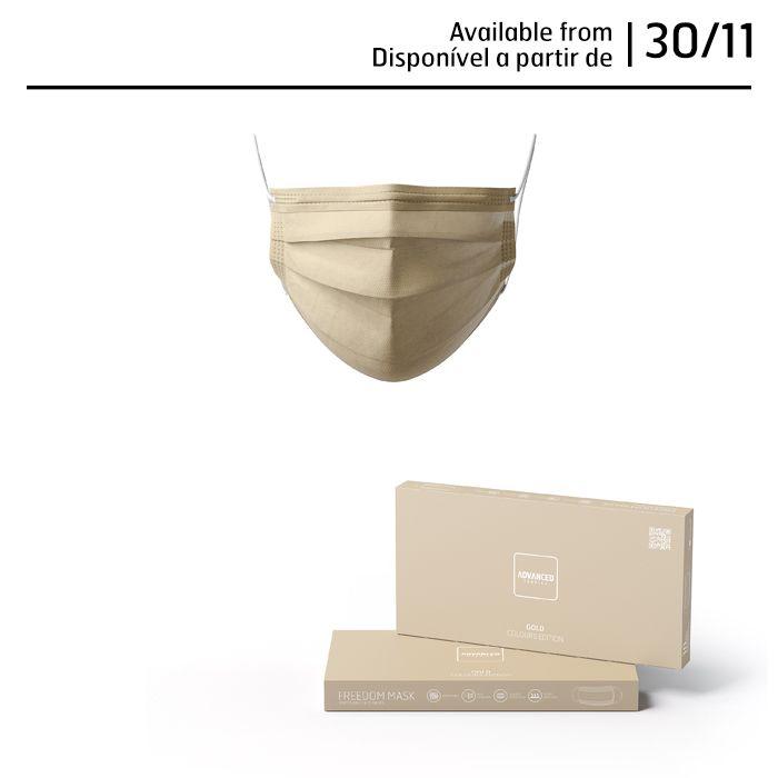 Pack máscaras cirúrgicas coloridas (10/un X 10 caixas)