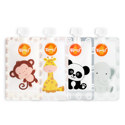 Pack 4 Animais 150ml