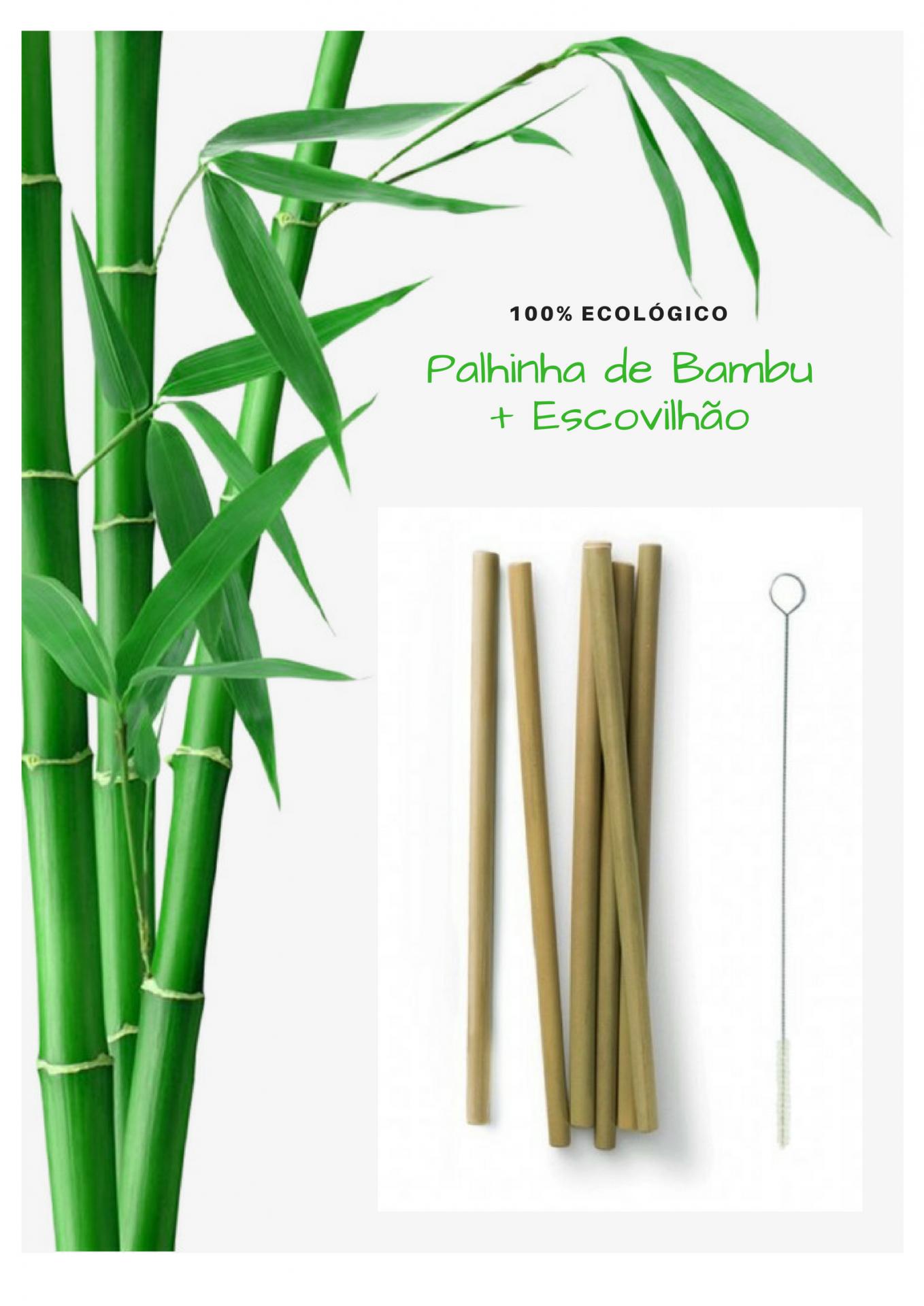 Palhinha de Bambu + OFERTA Escovilhão