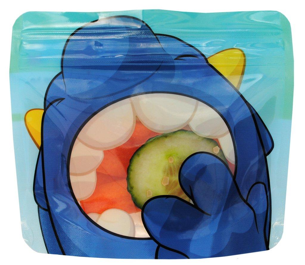 Pacotes Reutilizáveis para Snacks