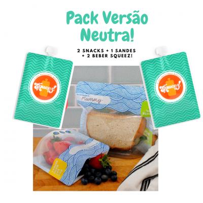 Pack 5 Lancheira Versão Neutra